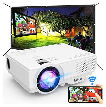Jinhoo WiFi Mini Video Projector