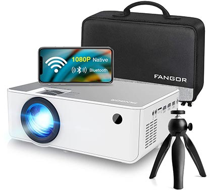 FANGOR Home Theater Video Projector
